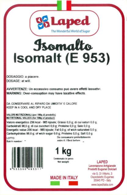 ISOMALTO sacchetto 1 Kg - LAPED
