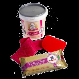 KIT DAISY (Prodotto DAISY, spatola, tappetino in silicone per pizzi) - LAPED