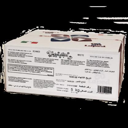 MODEL PASTE Pasta di zucchero bianca 5 kg - LAPED