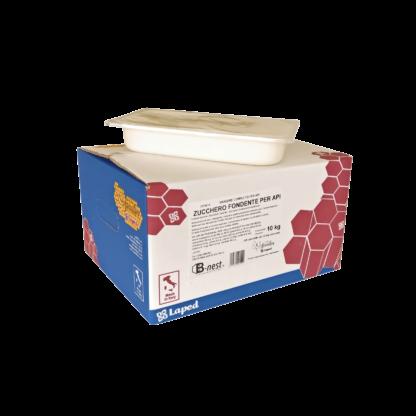 B-NEST Mangime - zucchero candito per api - 10 vaschette da 1 Kg